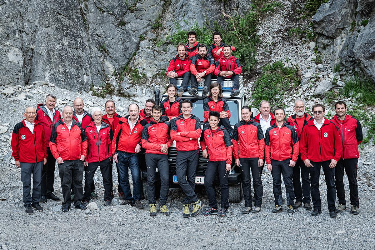Mannschaft Bergrettung Maurach